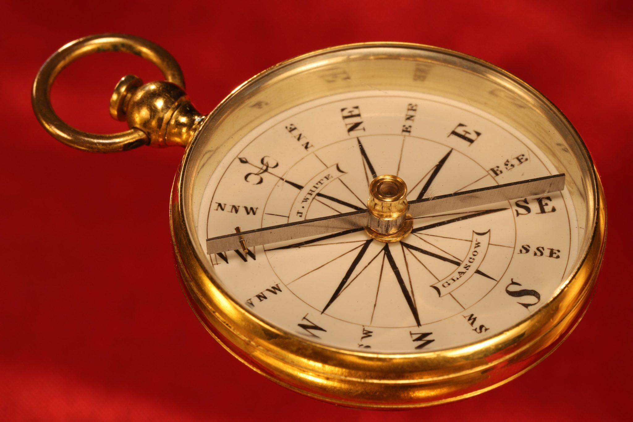 Image of James White Victorian Compass