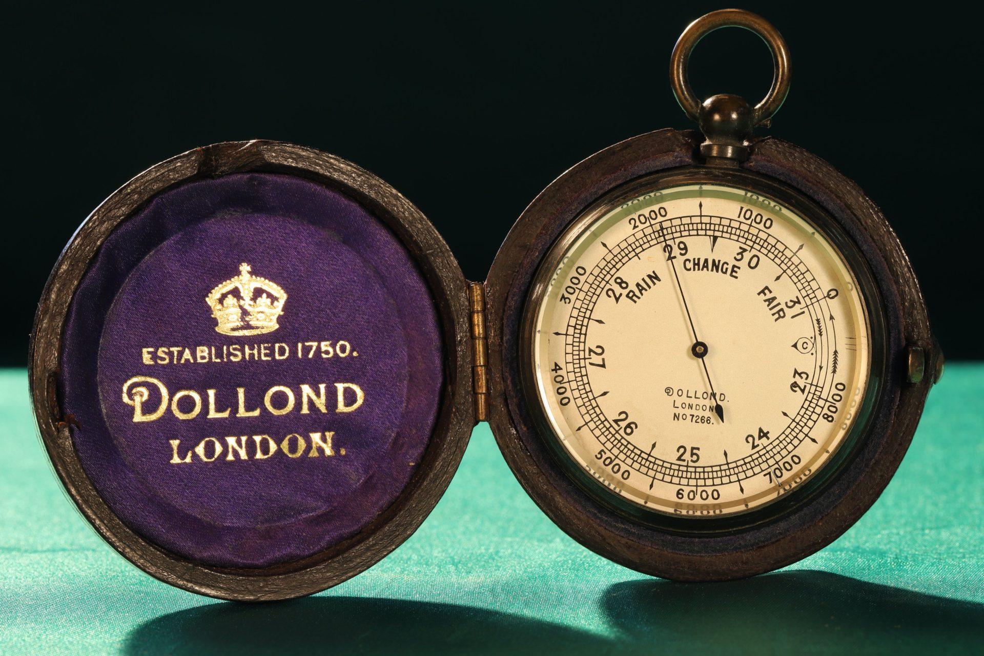 Image of Dollond Pocket Barometer No 7266