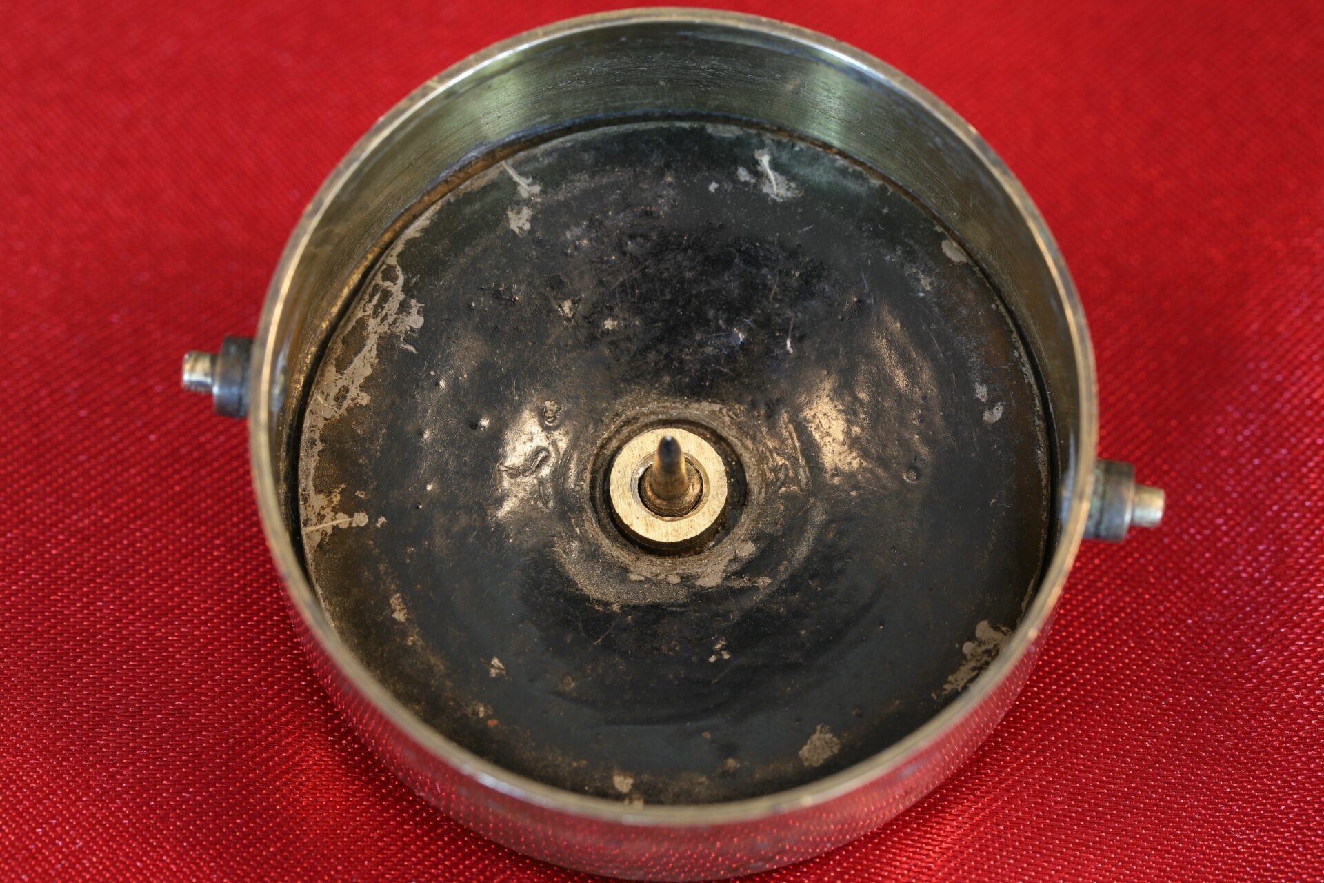 Image of bowl of Gimballed Marine Compass c1840