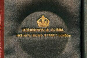 Image of Houghton & Gunn logogram in Silver Travel Compendium c1895