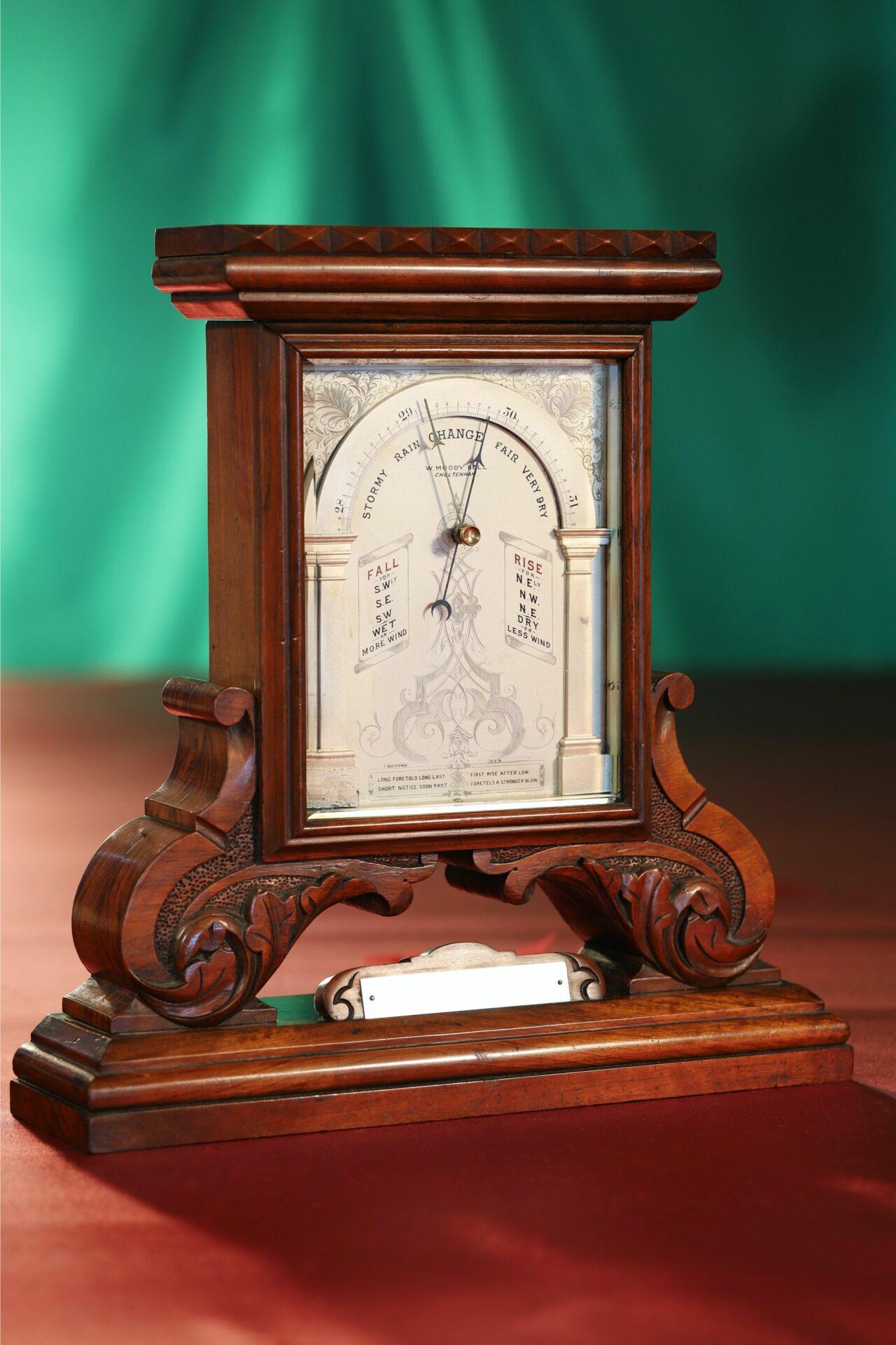 Image of Moody Bell Table Barometer c1880 taken from lefthandside