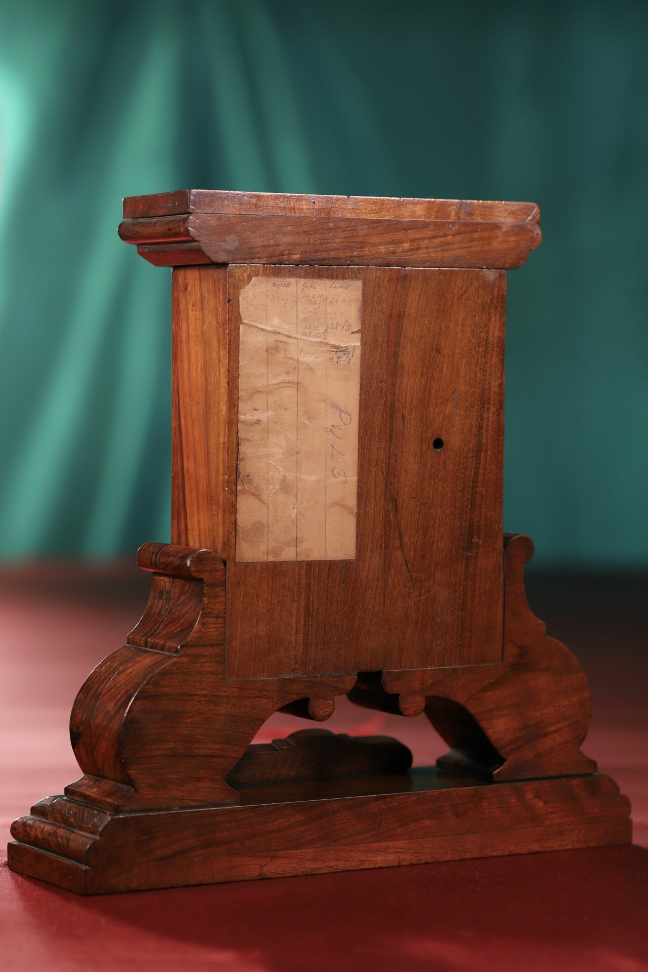 Image of back of Moody Bell Table Barometer c1880