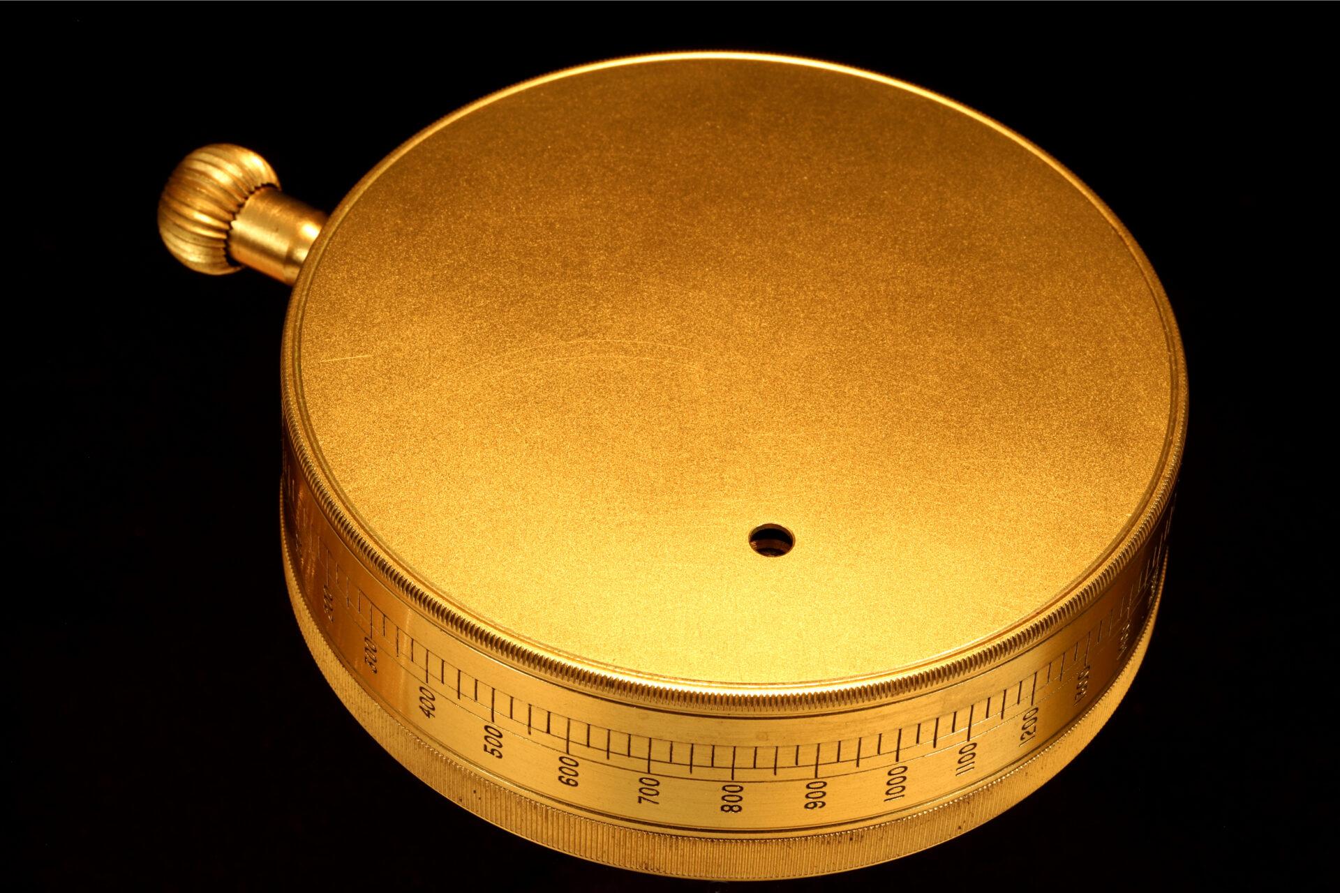Image of reverse of Negretti & Zambra Forecasting Aneroid No 9071 c1920