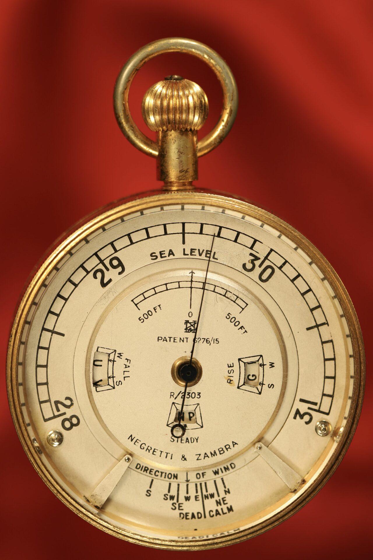 Image of front of Negretti & Zambra Weather Watch No R 2303