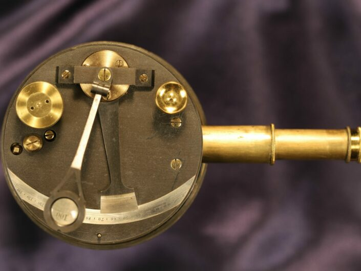 VICTORIAN POCKET SEXTANT OR BOX SEXTANT c1890 - Sold