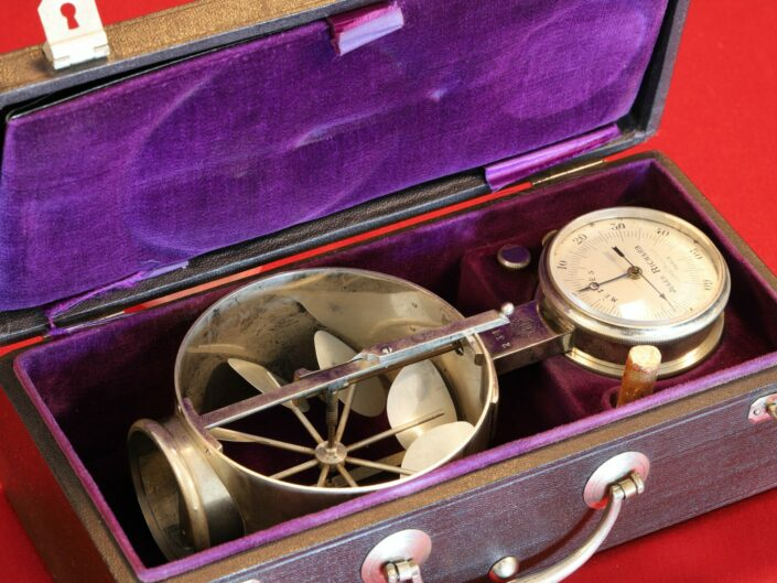 EARLY ANEMOMETER BY JULES RICHARD No 2315 c1890 - Sold