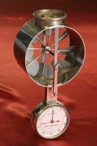 Image of Jules Richard Anemometer No 2316 c1890 taken from front