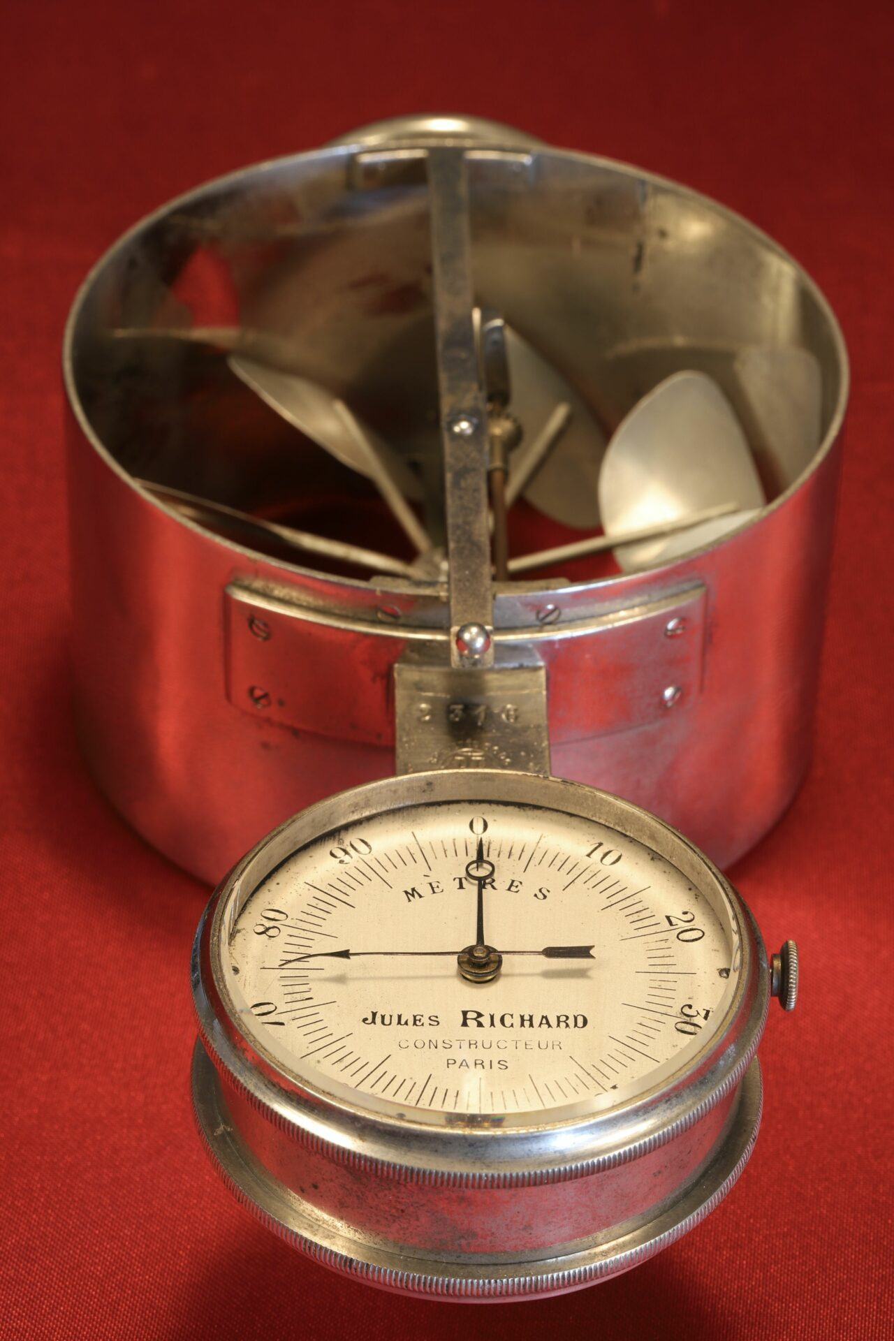 Image of Jules Richard Anemometer No 2316 c1890