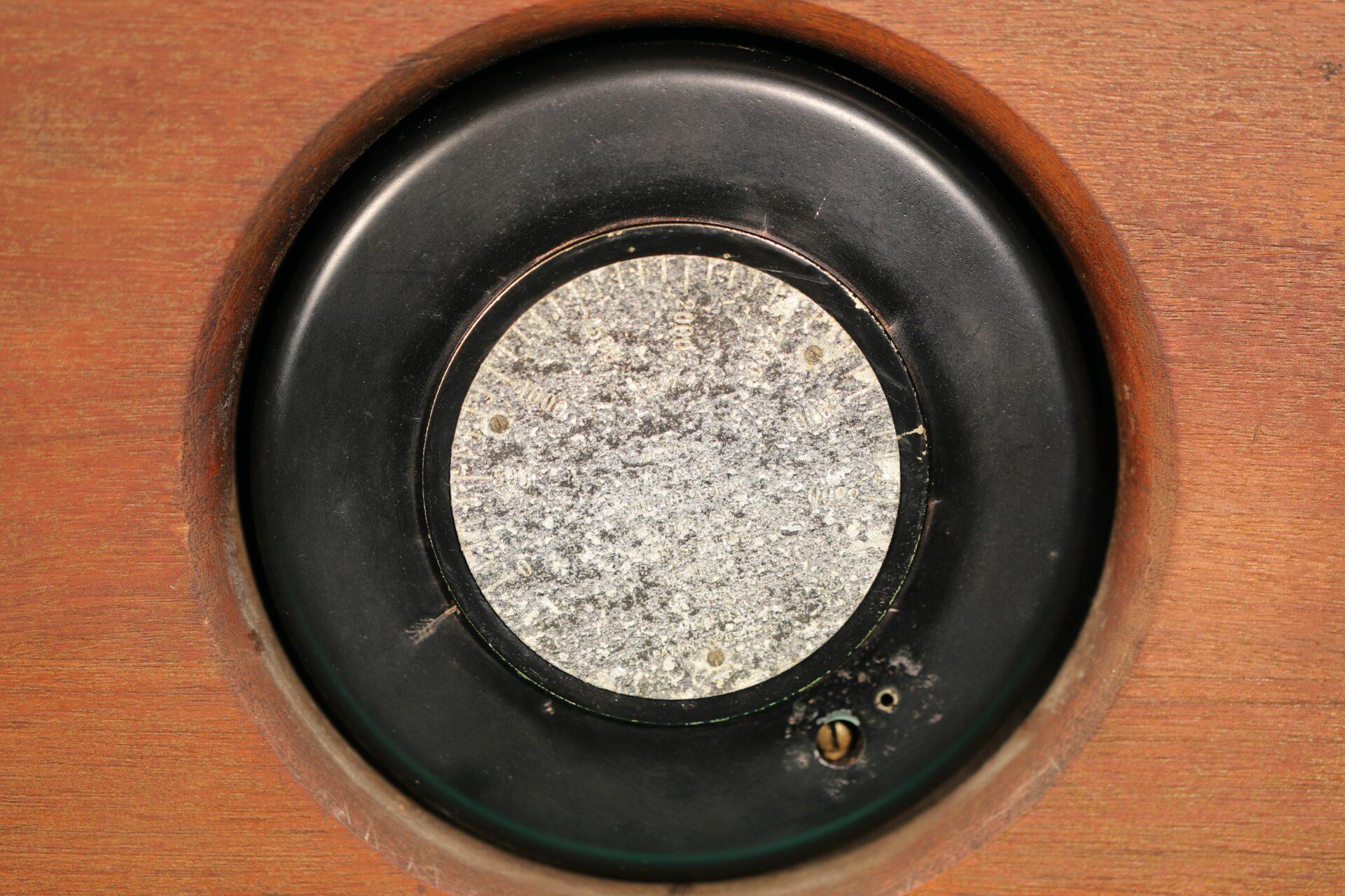 Image of altitude correction disc for Short & Mason Hexagonal Stormoguide Barometer c1935