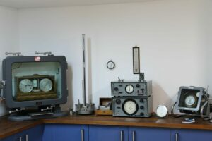 Image of Vavasseur Laboratory Test Equipment showing pressure chambers and calibration instruments