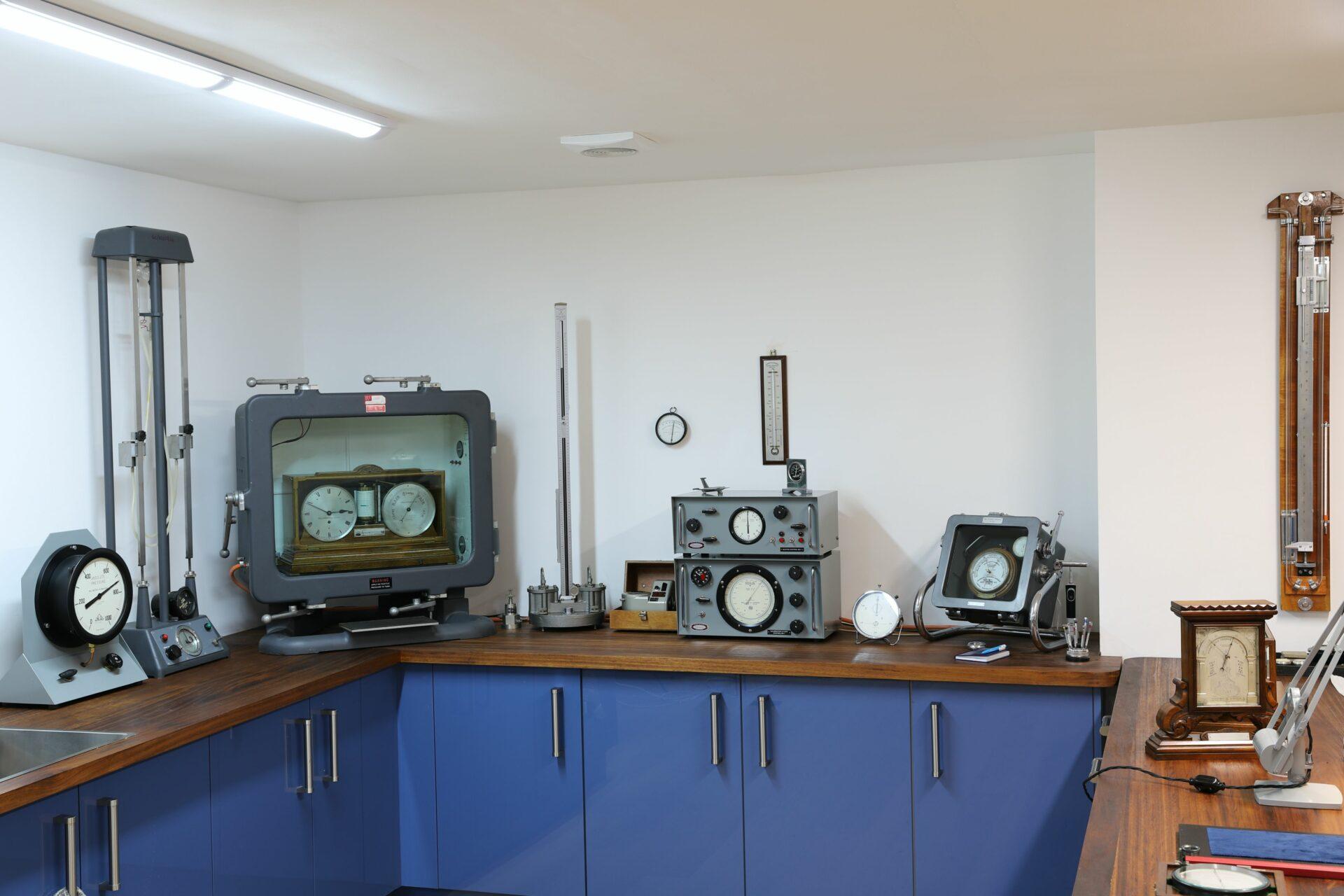 Wide view of Vavasseur Laboratory Test Equipment