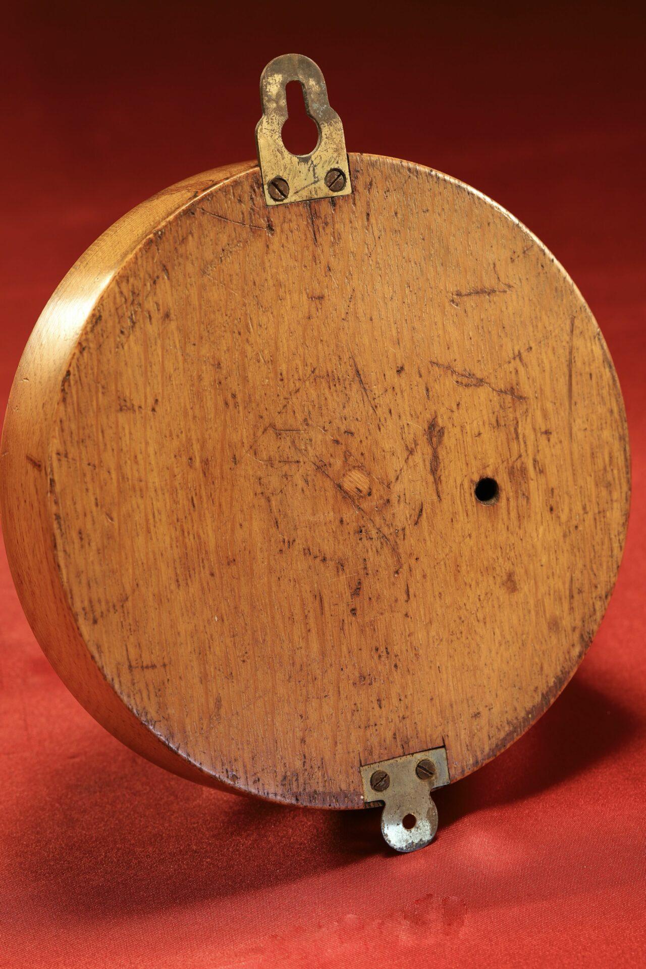 Image of Dollond Royal Standard Marine Barometer c1880 taken from back
