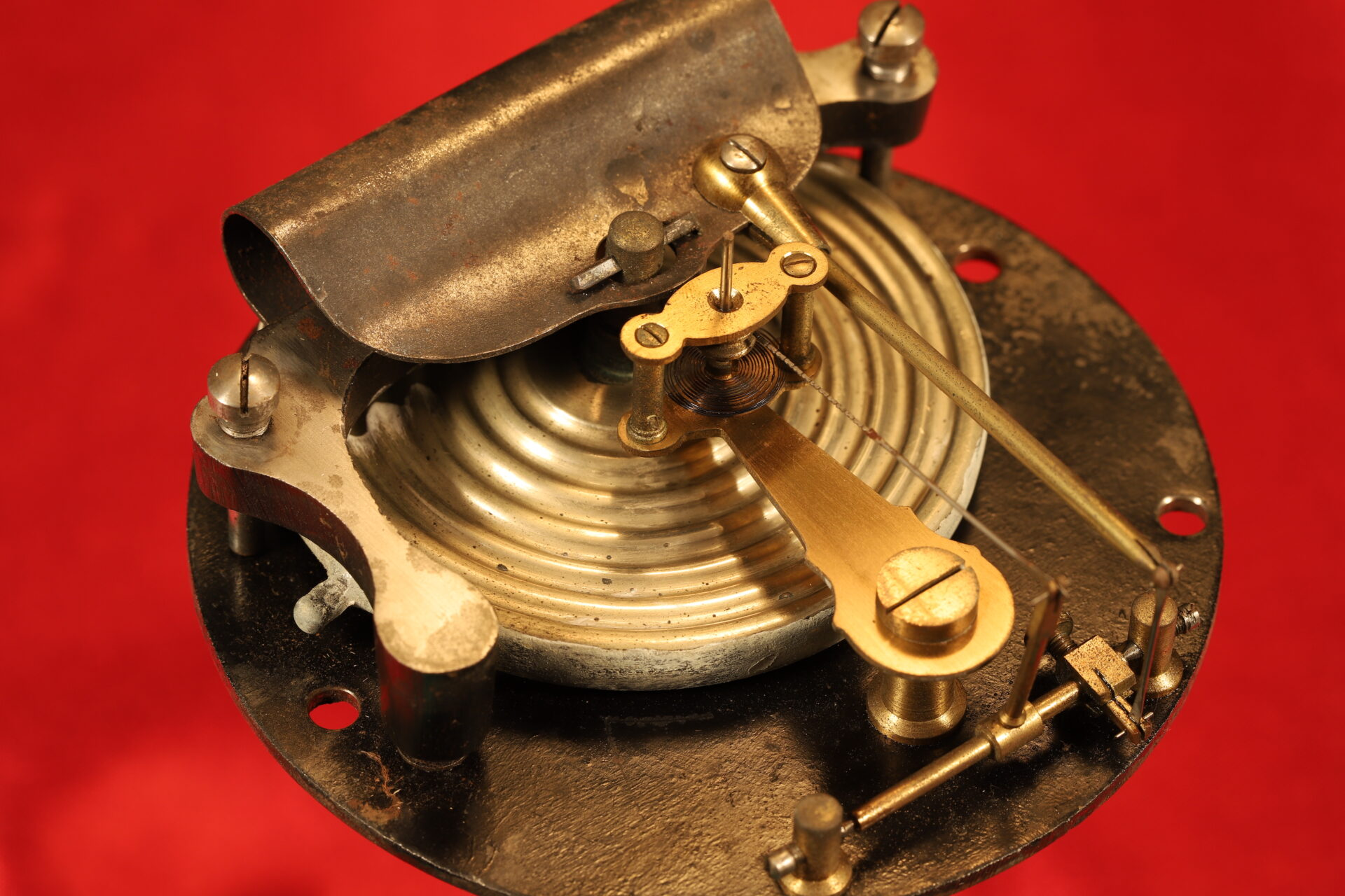 Image of movement for Dollond Royal Standard Marine Barometer c1880