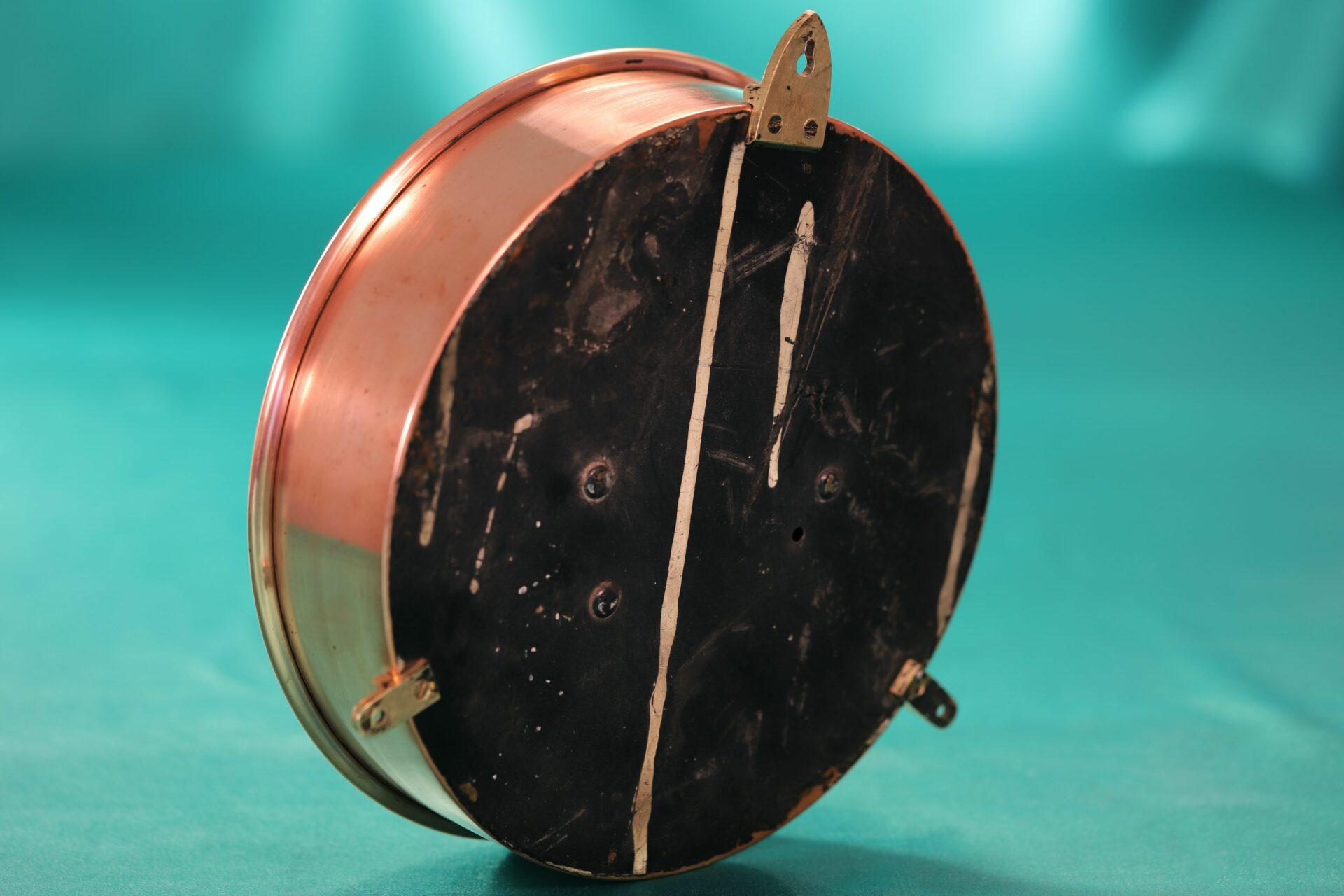 Image of reverse of Negretti & Zambra Mining Barometer for John Davis & Son