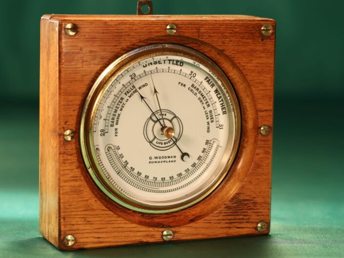 THE LIFE-BUOY MARINE BAROMETER BY DOLLOND c1885