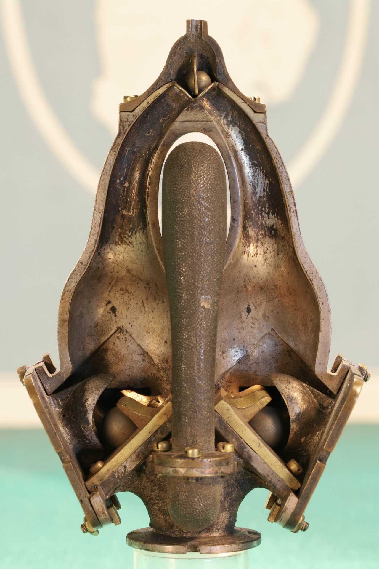 Image of rear of Pulsometer Steam Pump Model c1905