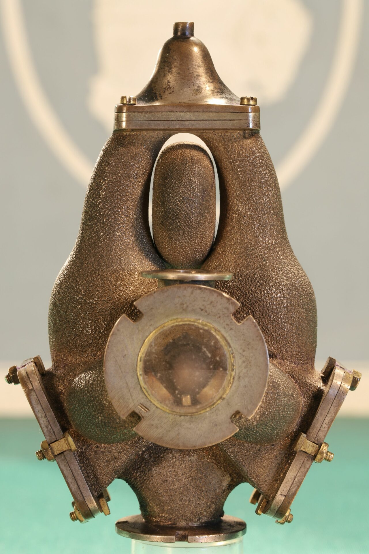 Image of front of Pulsometer Steam Pump Model c1905
