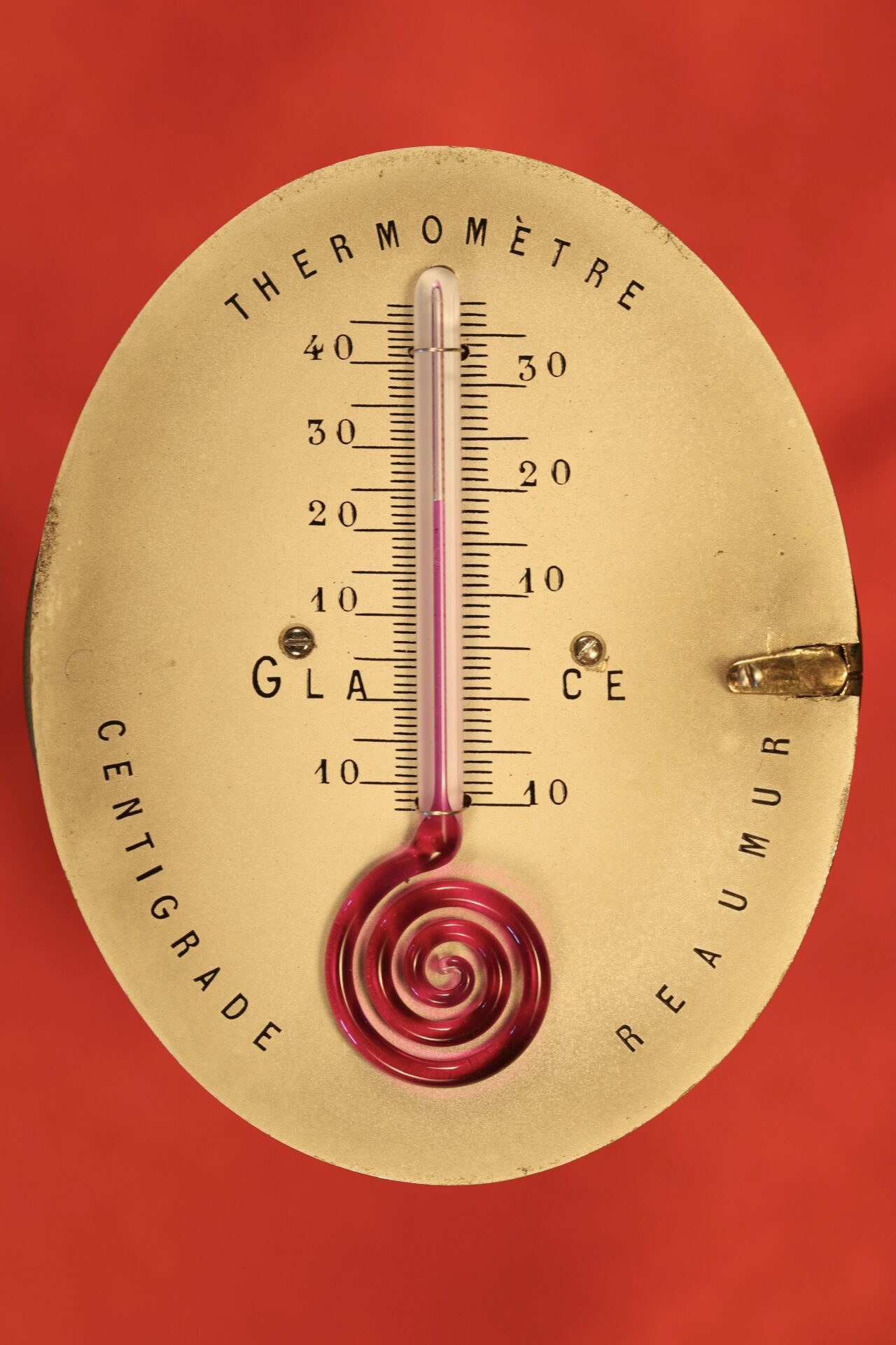 Image of Thermometer from Redier Travel Compendium c1880