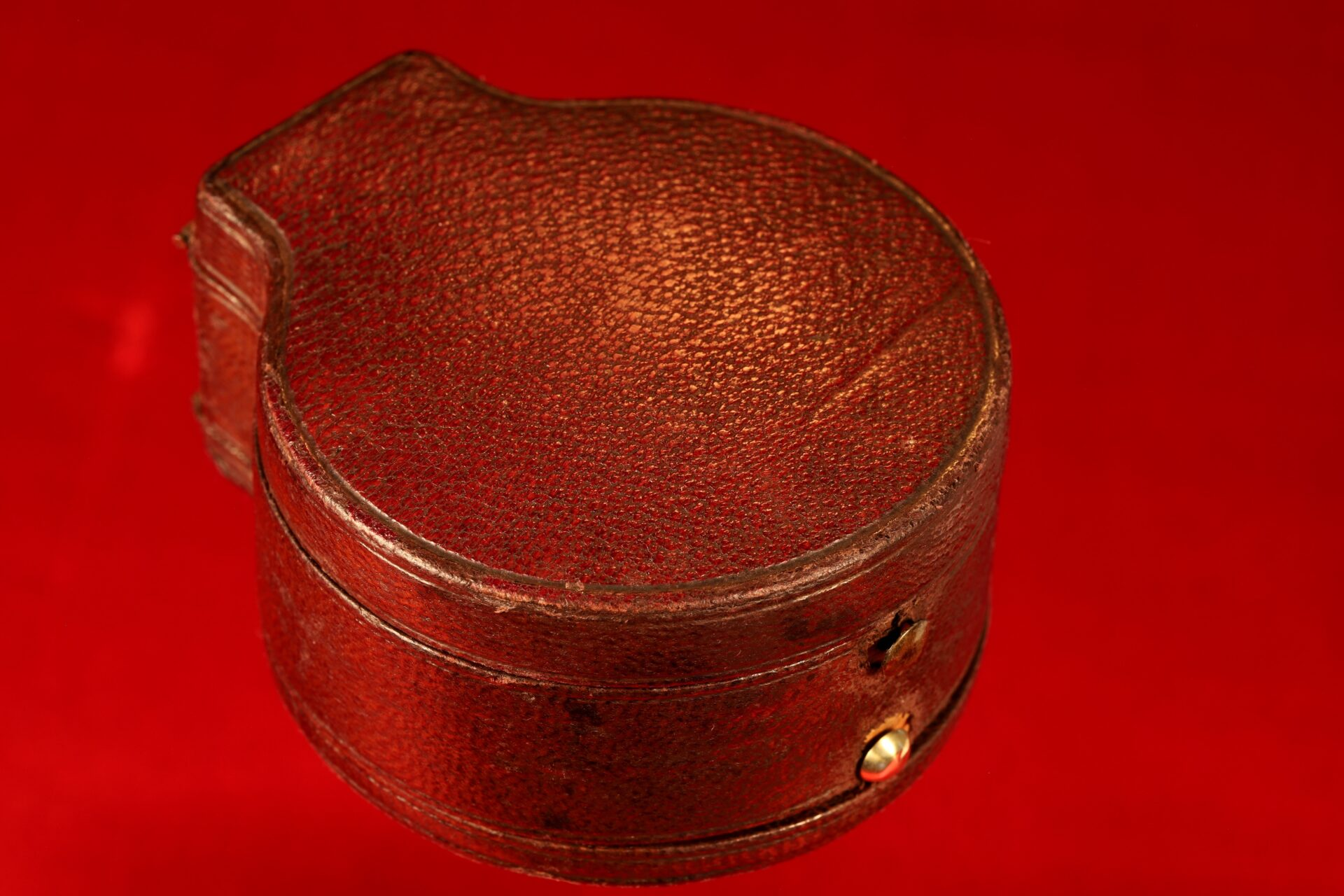 Image of closed case for Army & Navy COSL Pocket Barometer Compendium c1880