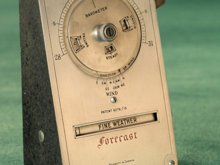 DESK WEATHER FORECASTER BY NEGRETTI & ZAMBRA c1915 - Reserved