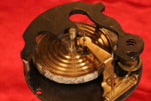 Movement from of JH Steward Gothic Mantle Barometer c1880
