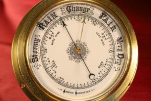 Image of Very Large Ships Marine Barometer c1890