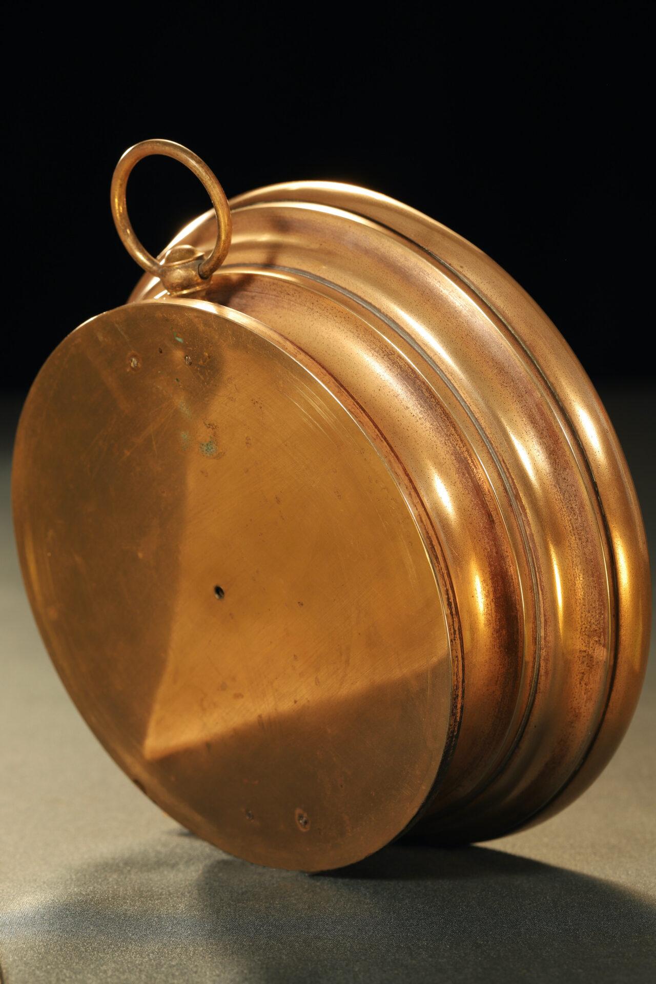 Image of reverse of Bourdon Barometer No 15178 c1880