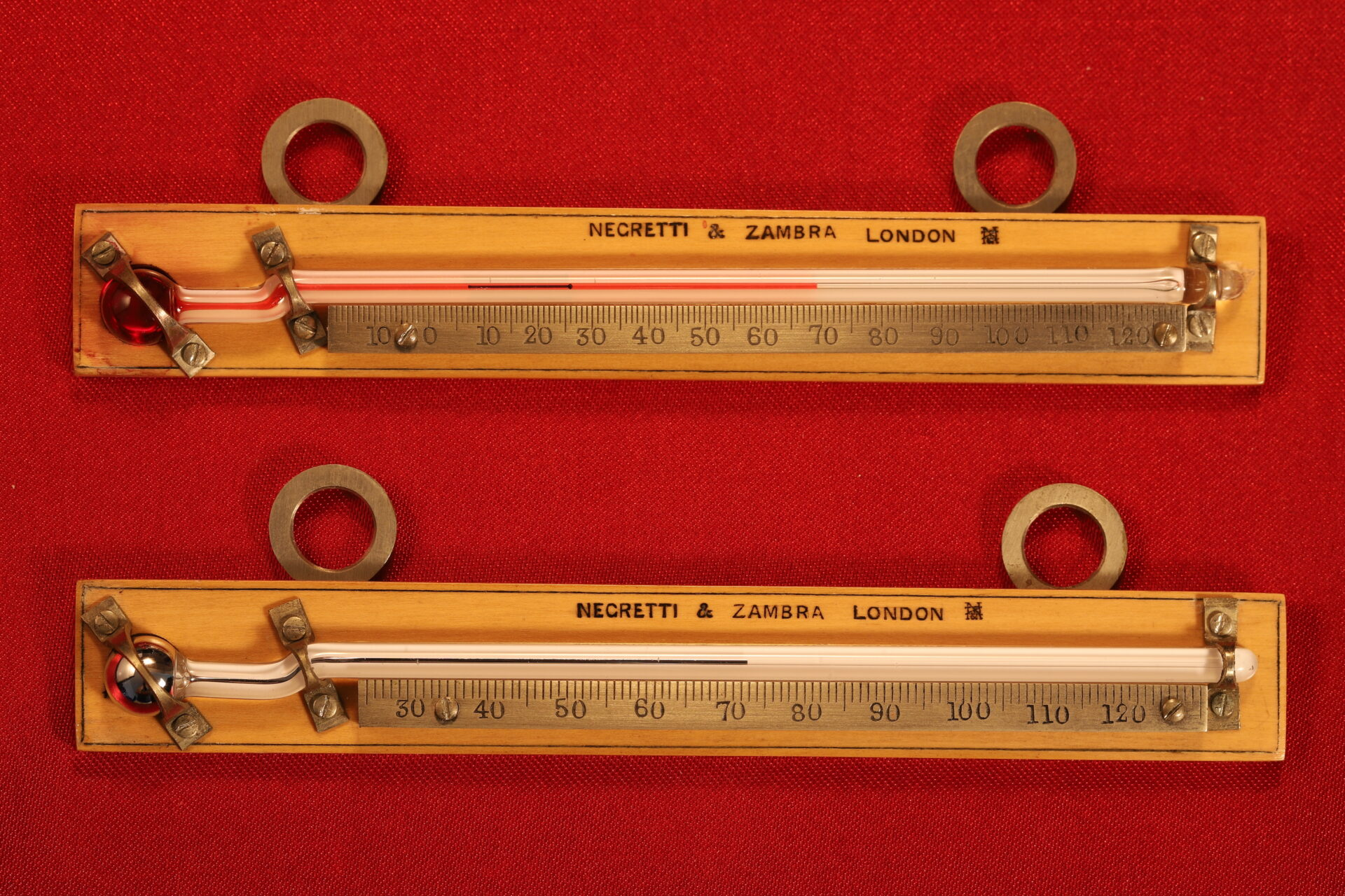 Image of Negretti & Zambra Scientific Thermometers c1915