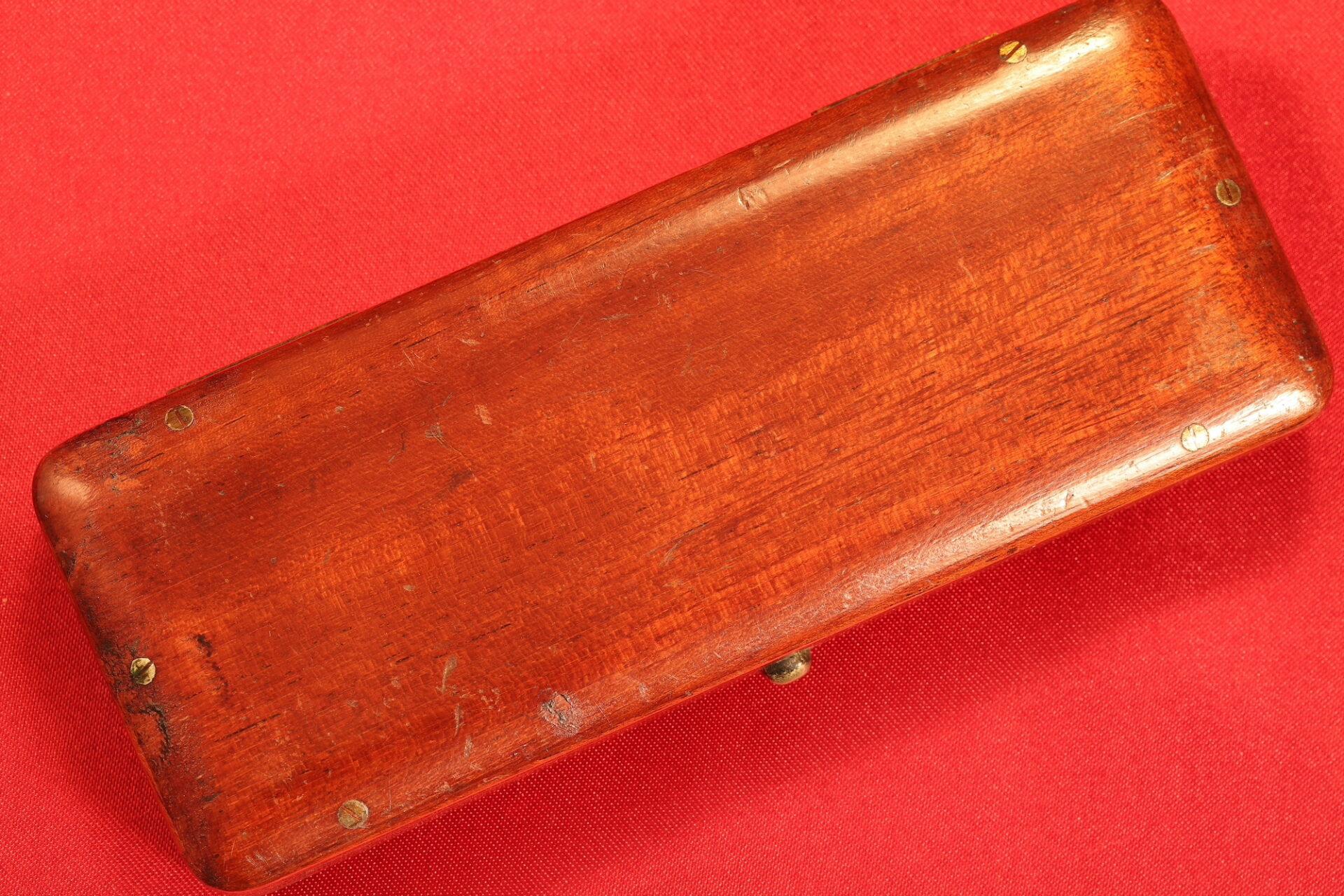 Image of travel case for Negretti & Zambra Scientific Thermometers c1915