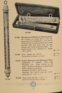 Image of M3 Catalogue entry for Negretti & Zambra Pocket Thermometers