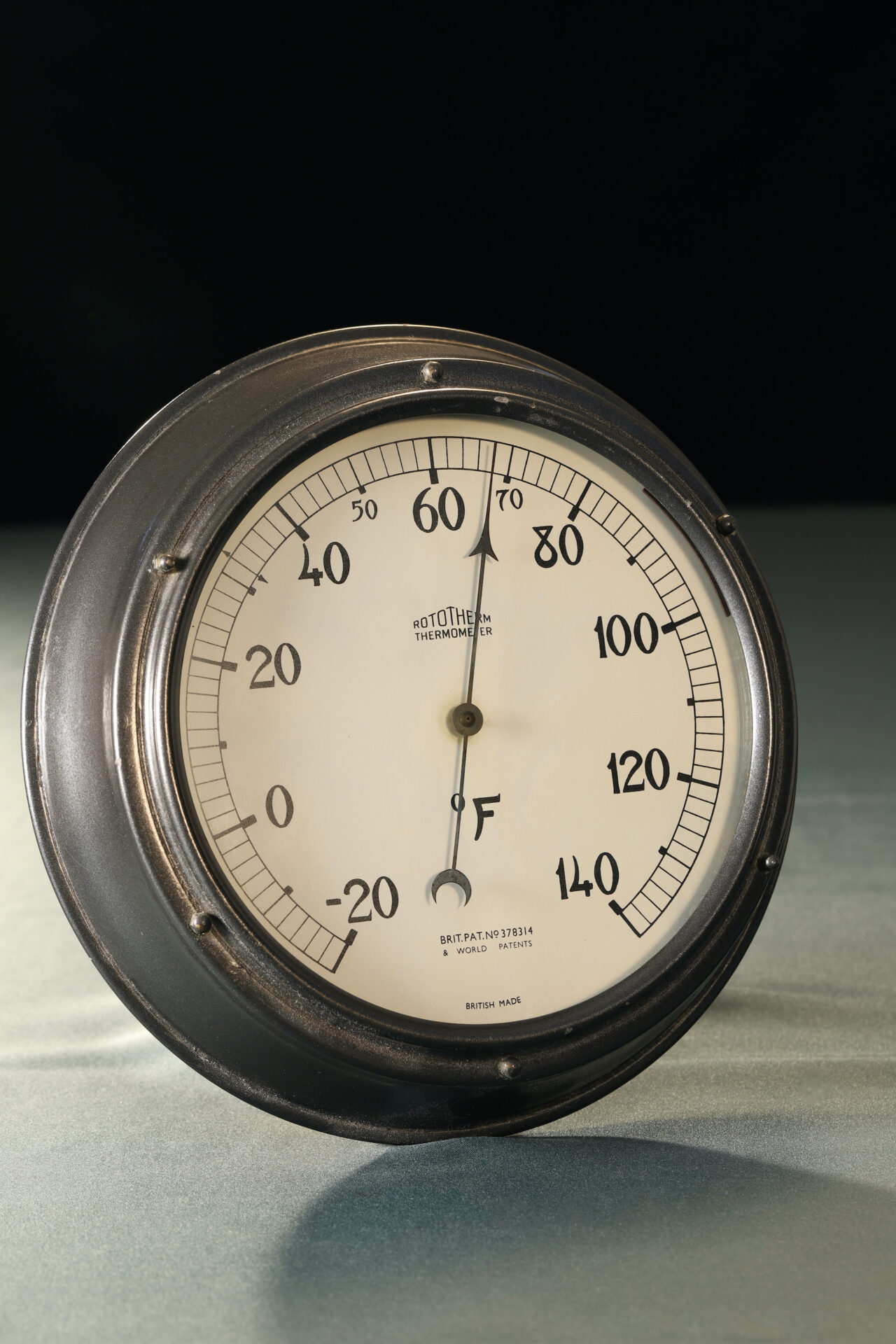 Image of Rototherm Thermometer c1932 taken from lefthand side