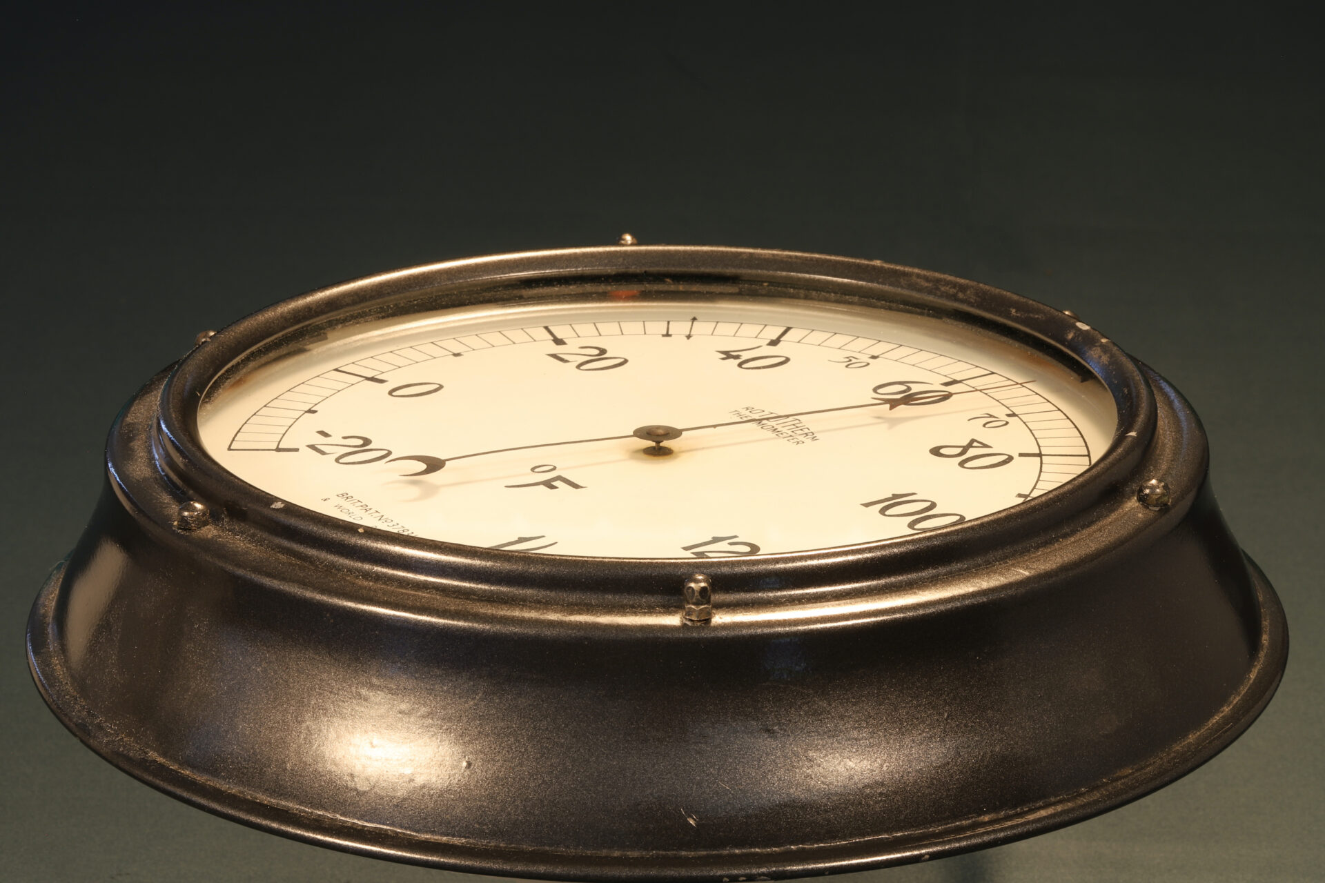 Image of Rototherm Thermometer c1932 taken from side