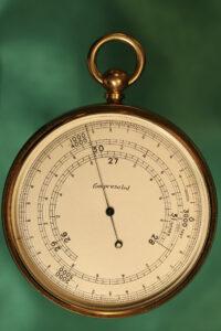 Image of Short & Mason Double Rotation Altimeter c1910