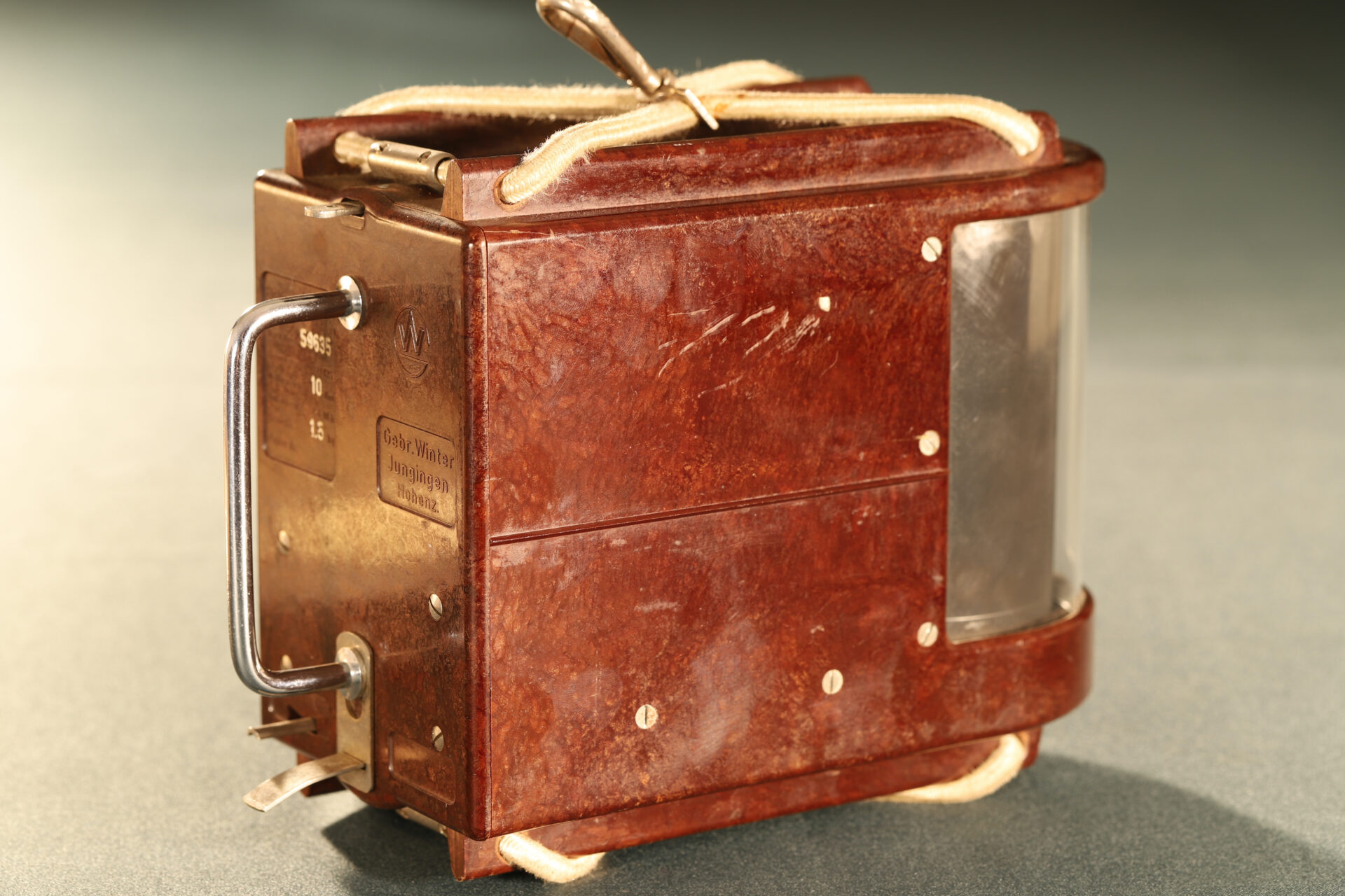 Image of rear of Winter Height Recorder No 59635 c1930