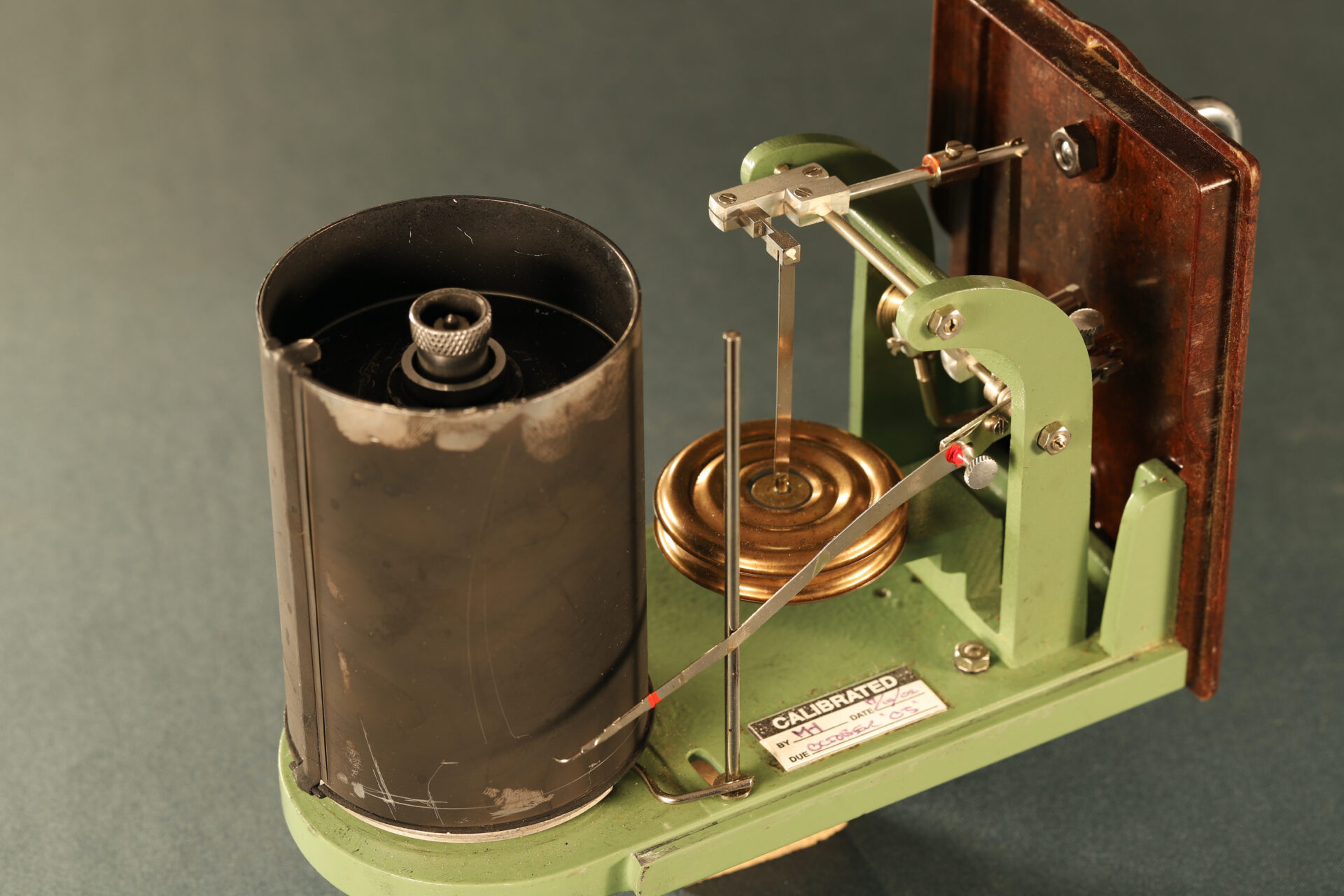 Image of movement of Winter Height Recorder No 59635 c1930